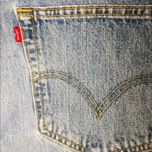 ♦️Levis 501 38/36  Straight Leg Button-Fly Jeans!